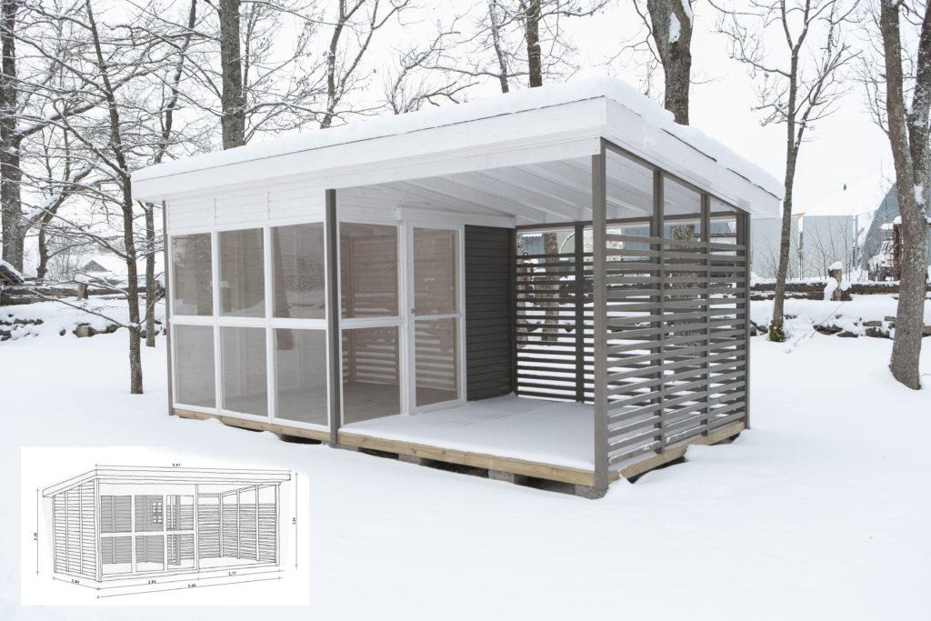 SUMMER ROOM 18 m²
