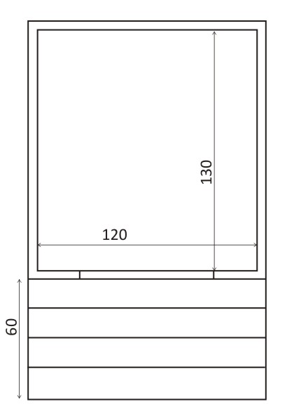 OUTDOOR TOILET 1,6 m²