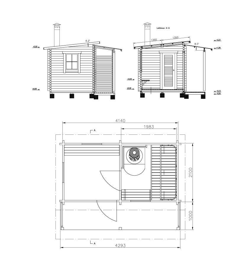 ITI 8 m² + terrace 4 m²