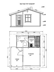 TAAVI 17 m² + terrass 6 m²