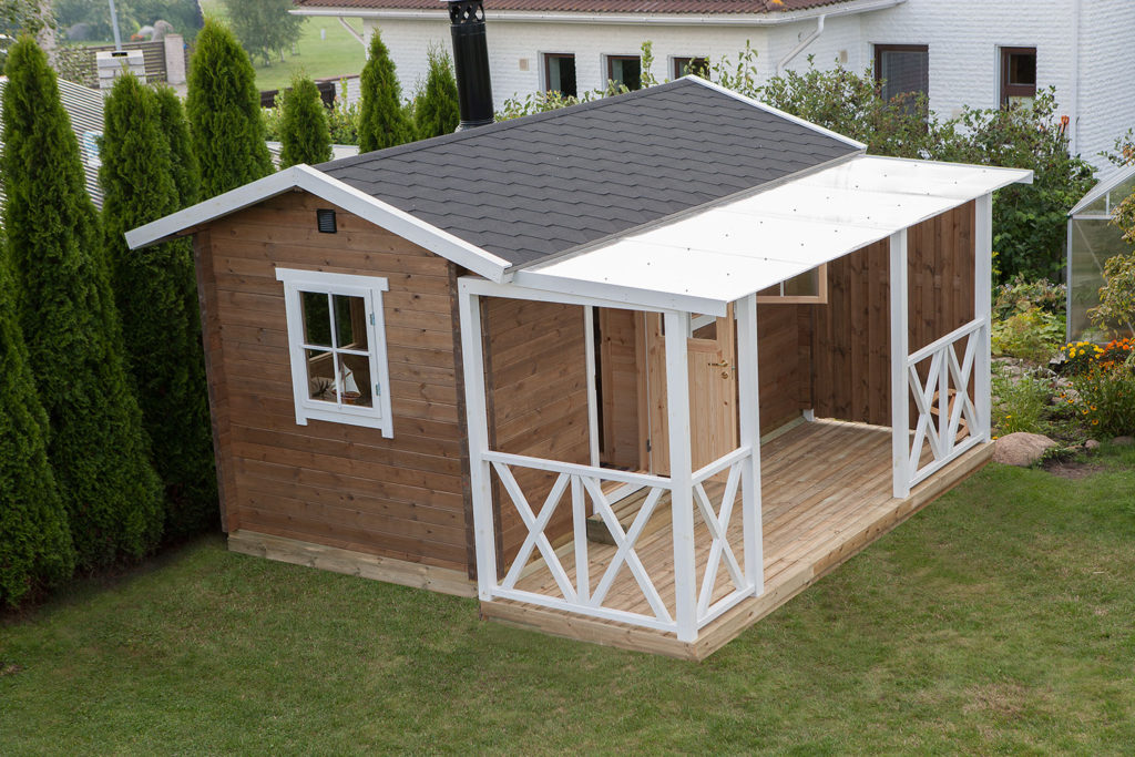 HERTA 8 m² + terrass 4 m²