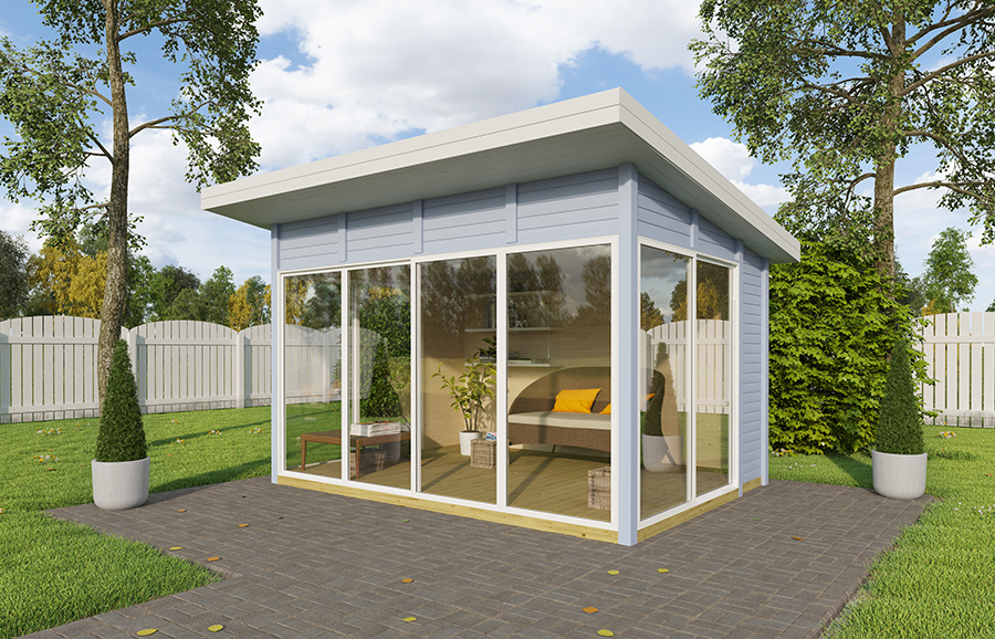 GLASS PAVILION 11 m²